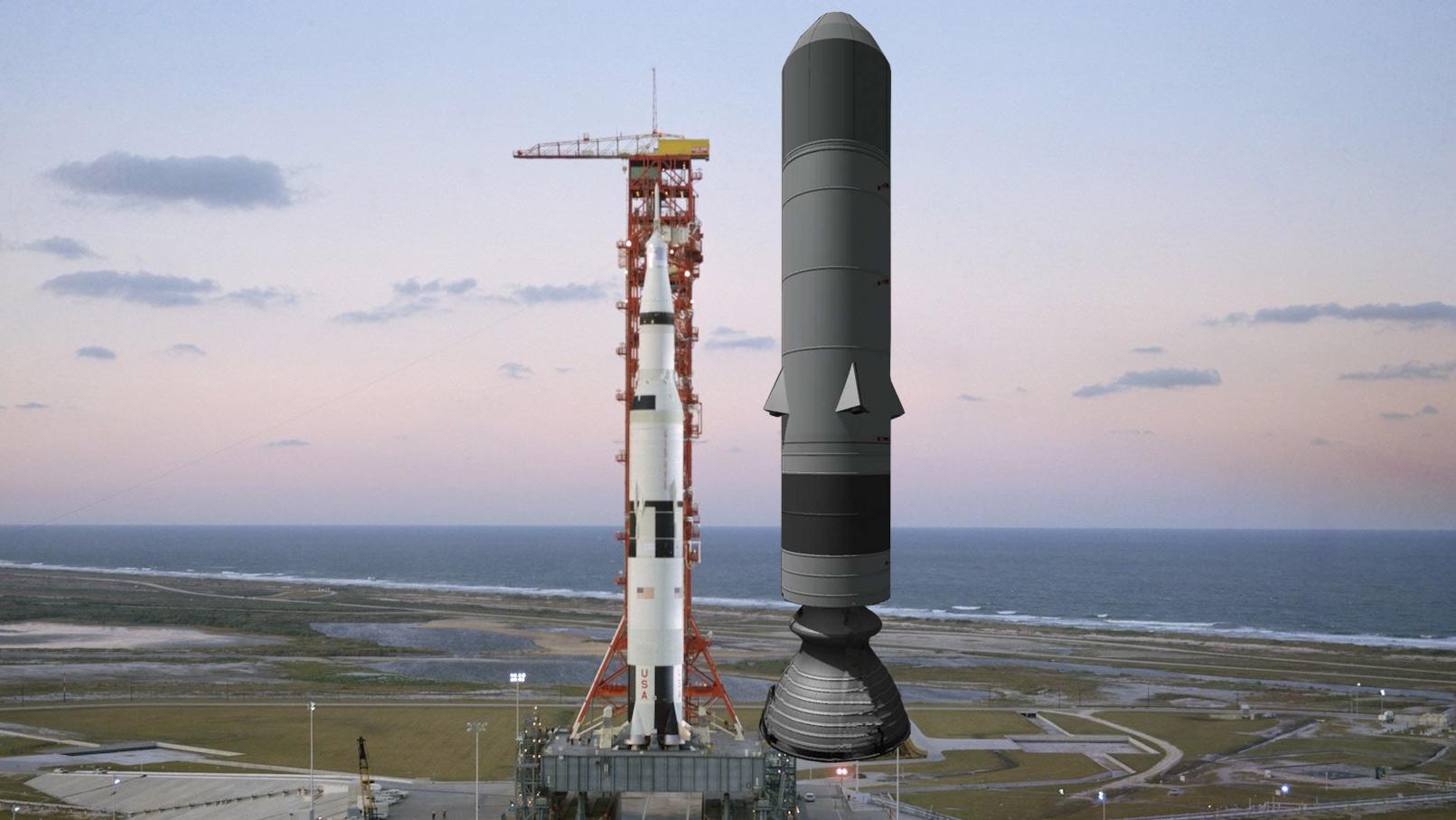 The Biggest Rocket ever Designed? - The Sea Dragon ...