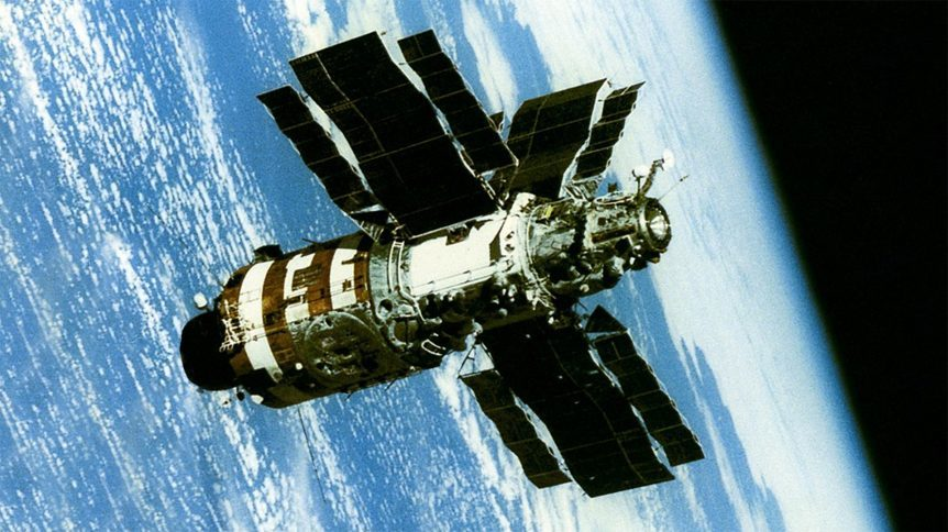 ussr launches mir space station - photo #37