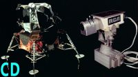 The TV camera's Apollo left on the Moon