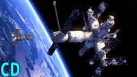 Space Station Collision – Mir Crash with Progress Supply Vessel