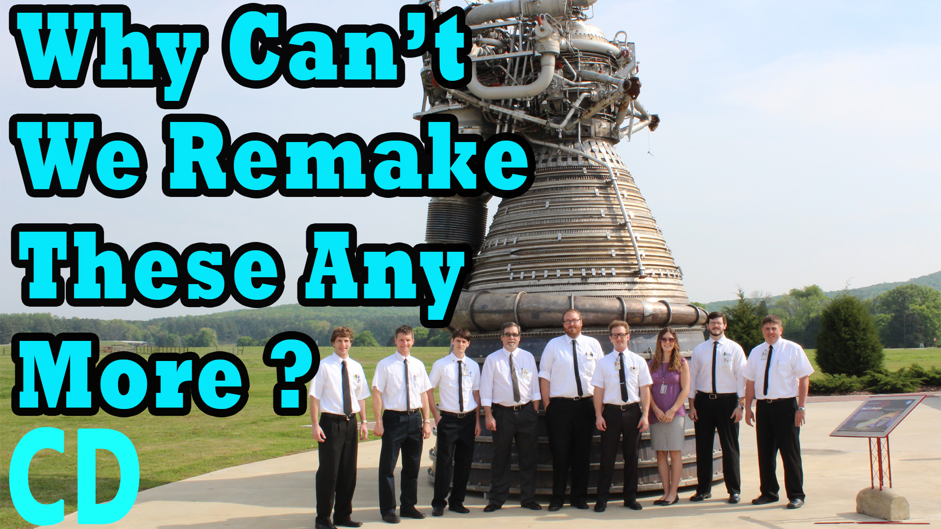 Why Can't we Remake the Rocketdyne F1 Engine?