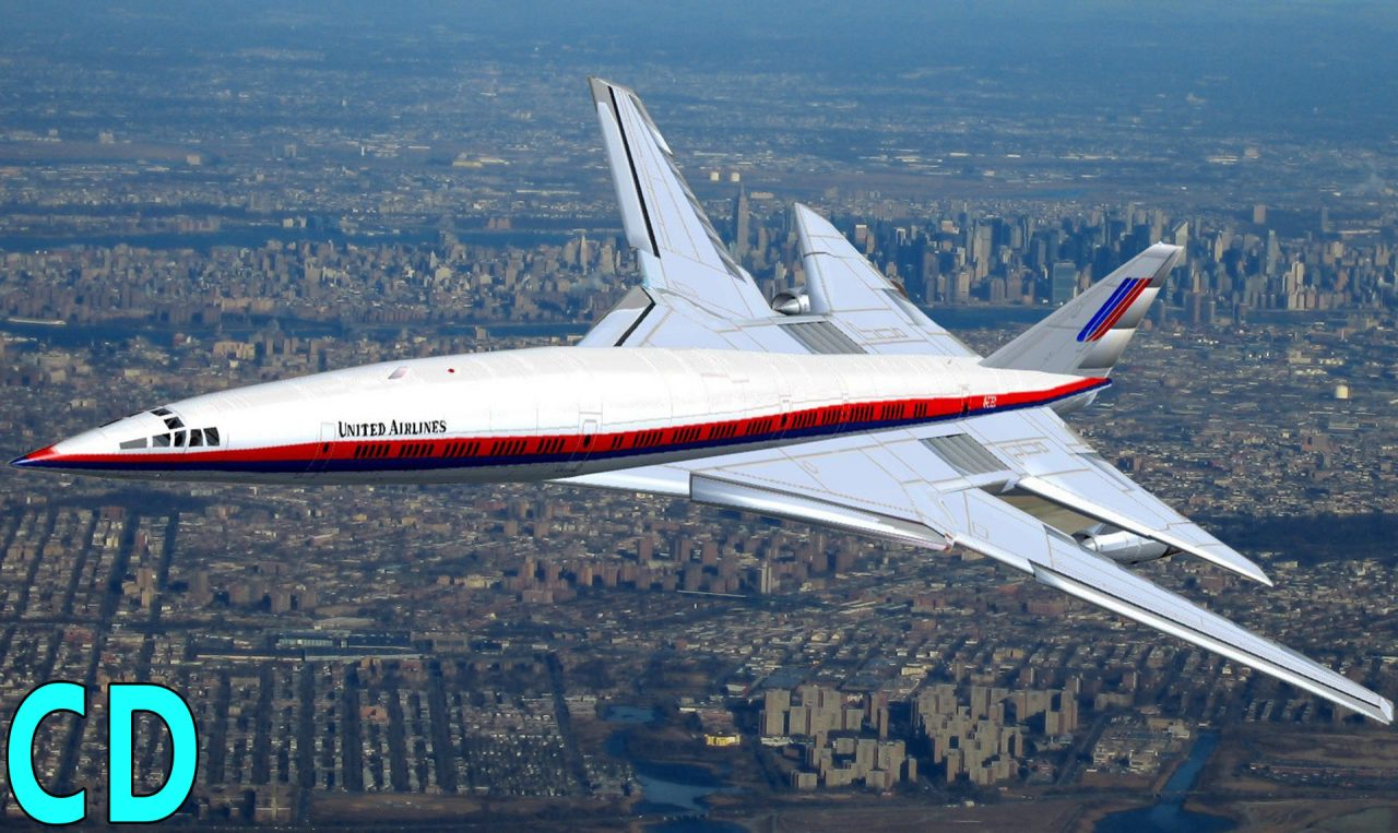 The Forgotten American Concordes - Boeing 2707 - Lockheed L-2000 SST - Curious Droid