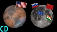 Mars or the Moon – Where do NASA manned missions go next?
