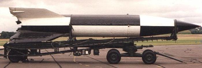 V2 Rocket roll pattern