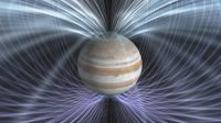 How does gas giant Jupiter have a metallic core?