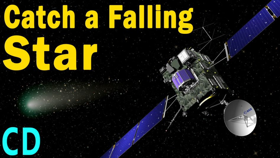 What does it take to land on a comet?