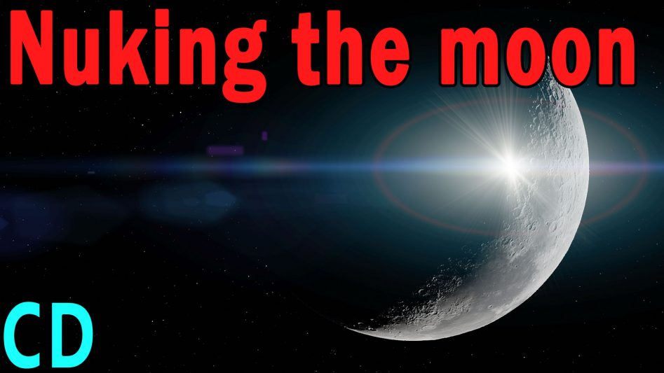 Nuking the moon - The Secret USAF Project A119