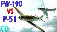 Focke-Wulf FW-190 vs P-51 Mustang – Which was better?