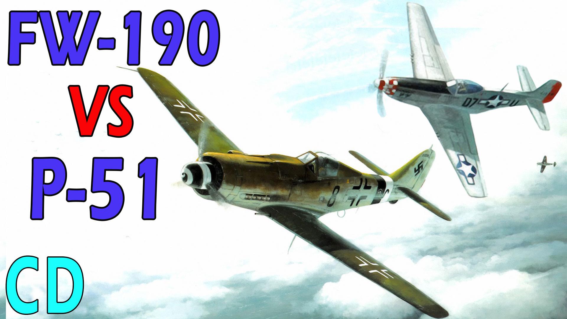 P-51 vs FW-190