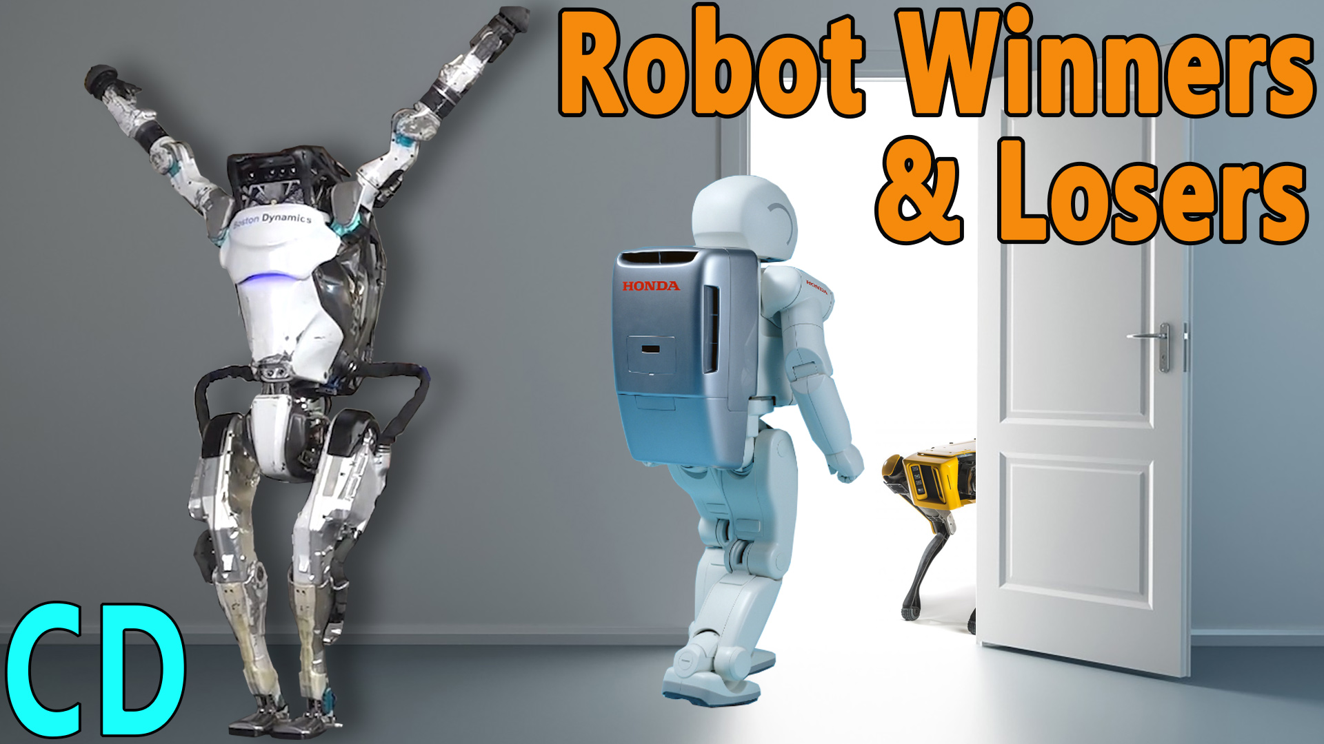 4 years on, what has happened to the robots Asimo, Atlas, spot, cheetah and Pepper
