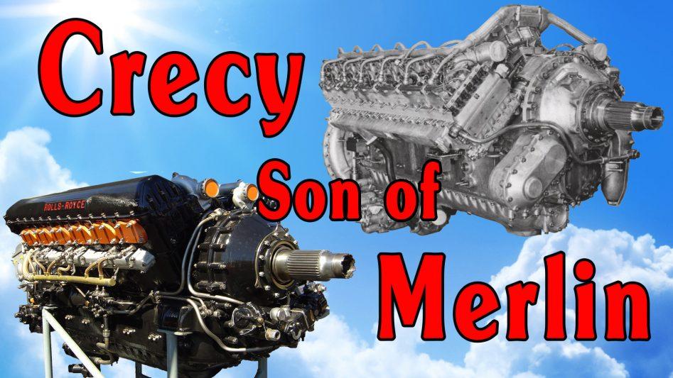Rolls Royce Crecy - The Most Advanced Piston Aero Engine Never Made.